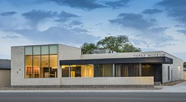 Topaz Museum exterior
